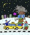 Cartoon: der Kofferraum (small) by belozerov tagged kofferraum,elefant,taxi