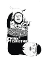 Cartoon: christmas card (small) by jannis tagged people