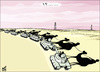 Cartoon: arab tanks (small) by samir alramahi tagged arab,revelutions,ramahi,cartoon