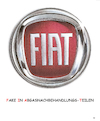 Cartoon: Fake In Abgasnachbehandlungs-T. (small) by Erwin Pischel tagged fiat,logo,chrysler,abgase,abgasnachbehandlung,fake,betrug,skandal,stickoxide,emission,motorsoftware,illegal,manipulation,abgaswerte,abschalteinrichtung,verkehrsministerium,dobrindt,eu,kommission,pischel,auto,diesel,dieselfahrzeug,prüfstand,dieselmotor,abg