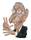 Cartoon: Marcelo Rebelo de Sousa (small) by pe09 tagged portuguese