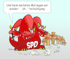 Cartoon: SPD-Parteivorsitz (small) by wista tagged politik,spd,partei,vorsitzender,vorsitz,parteivorsitzender,parteivorsitzende,mobbing,aufgabe,abdanken,rot,links,linke,nahles,andrea,gabriel,sigmar,müntefering,franz,kurt,beck,scharping,rudolf,schröder,lafontaine,brandt,willy,aufgeben,verzciht,wahl,abwahl,scholtz,olaf,politiker,umgang,umgangsform