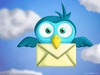 Cartoon: Tweet Bird (small) by kellerac tagged cartoon maria keller kellerac bird tweet twitter social network mexico art cute