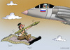 Cartoon: arab tale (small) by Dubovsky Alexander tagged arab,war,terrorist,conflict