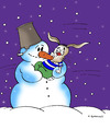 Cartoon: Baby (small) by Dubovsky Alexander tagged baby,snow