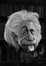Cartoon: Albert Einstein (small) by Guillamon tagged albert,einstein,caricature,tongue,photoshop,old