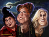 Cartoon: Hocus Pocus (small) by tobo tagged bettemidler,sarahjessicaparker,kathynajimy