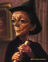 Cartoon: Maggie Smith (small) by tobo tagged maggie smith
