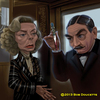 Cartoon: Murder on the Orient Express (small) by tobo tagged caricature