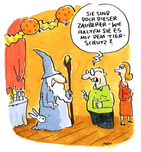 Cartoon: Tiere (medium) by ari tagged hobbit,gandalf,tolkien,jackson,neuseeland,film,movie,tierschutz,zauberer,plikat,kaninchen,hase,parts,smalltalk,literatur