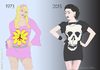 Cartoon: Lively Fashion (small) by Wilmarx tagged fashion,behavior