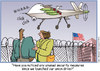 Cartoon: Eye in the Sky (small) by carol-simpson tagged labor,union,drones,security,spying