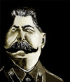 Cartoon: STALIN (small) by saeed faraji   tagged great dictator