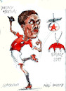 Cartoon: Martial (small) by Miro tagged martial