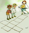 Cartoon: no title (small) by Miro tagged no,title