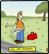 Comic Strip Hitchhiker