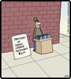 Cartoon: Peddler Directory (small) by cartertoons tagged peddlers,vendors,streets,sales,business