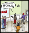 Cartoon: Screw up (small) by cartertoons tagged bank,robbers,robbery,stick,up,screw,customers