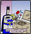 Cartoon: Utility Belt Washing (small) by cartertoons tagged batman,superheroes,comics,hero,washing,machine,clothing,malfunctions