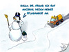Cartoon: Pflugangst - Winteredition (small) by swenson tagged angst,schnee,snow,pflug