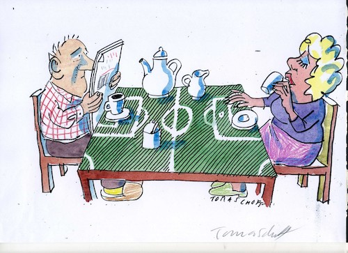 Cartoon: Fussball4 (medium) by Jan Tomaschoff tagged fussball,fussball