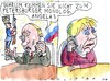 Cartoon: Dialog (small) by Jan Tomaschoff tagged putin,russland,dialog,deeskalation