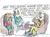 Cartoon: dumme Kuh (small) by Jan Tomaschoff tagged partnerschaft,therapie