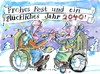 Cartoon: Neujahr (small) by Jan Tomaschoff tagged demographie,neujahr