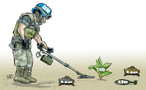 Peacekeepers truth and lie