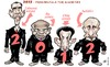 Cartoon: 2012 (small) by Damien Glez tagged presidentials,minorities,2012