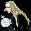 Cartoon: Marion Marechal Le Pen (small) by Damien Glez tagged marion,marechal,le,pen,france