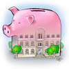 Cartoon: Real estate report (small) by Damien Glez tagged real,estate,report,money,owner,renter,rent,speculation