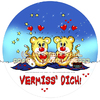 Cartoon: FeliX Cartoon-Vermisse Dich! (small) by FeliXfromAC tagged birthday,happy,lila,lovecrazy,animal,tier,musik,music,glück,love,liebe,piguin,package,kuchenschachtel,schachtel,verpackung,illustration,comic,cartoon,illustrator,aachen,germany,sympathiefigur,mascot,character,line,design,horst,reinhard,alias,felix,leo,rom