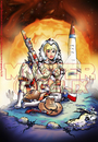 Cartoon: Final Female Frontier! (small) by FeliXfromAC tagged felix alias reinhard horst design line aachen germany comic cartoon illustration pinup sexy erotic erotik art wild west space outer cover titelseite sf