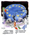 Cartoon: Euro family (small) by AGRA tagged economics,crisis,recession