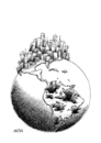 Cartoon: North-South (small) by AGRA tagged north,south,third,world,explotation