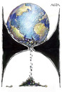 Cartoon: Tiempo final (small) by AGRA tagged ecology,earth