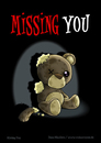 Cartoon: Missing You (small) by volkertoons tagged volkertoons,cartoon,comic,karte,grußkarte,postkarte,greeting,card,bär,baer,teddy,bear,teddybär,spielzeug,toy,pet,plüschtier,kuscheltier,stofftier,kaputt,damaged,out,of,order,tot,dead,einsamkeit,allein,alleinsein,loneliness,lonely,alone,traurig,sad