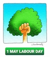 Cartoon: 1 MAY LABOUR DAY (small) by halisdokgoz tagged may,labour,day