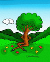 Cartoon: Spring (small) by halisdokgoz tagged spring