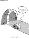 Cartoon: The Time Tunnel (small) by Ahmedfani tagged cartoon,time,tunnel