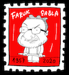 Cartoon: Faruk Cagla (small) by Hayati tagged faruk,cagla,cartoonist,karikaturist,istanbul,portrait,berlin