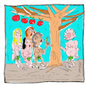 Cartoon: Paradiese (small) by Hayati tagged paradiese,cennet,himmel,adam,havva,eva,adem,women,woman,kadin,frau,cartoon,hayati,boyacioglu