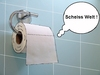Cartoon: Scheiss Welt (small) by sier-edi tagged scheiss,toilettenpapier,welt