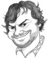 Cartoon: Jack Black (small) by Arena tagged jack,black,actor