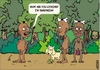 Cartoon: Vegetarian (small) by Arena tagged vegetarian,canibals,humor