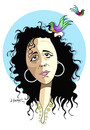 Cartoon: -MENEKSE CAM- PORTRAIT-2 (small) by donquichotte tagged mcam