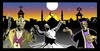 Cartoon: COSMOCITY ISTANBUL (small) by donquichotte tagged cosmo