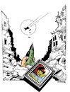 Cartoon: WAR-1 (small) by donquichotte tagged wr