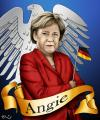 Cartoon: Angela Merkel (small) by lexluther tagged merkel,angela,deutschland,bundesrepublik,bundeskanzler,bundeskanzlerin
